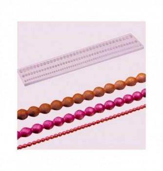 Moule Silicone Frise de Grosses Perles
