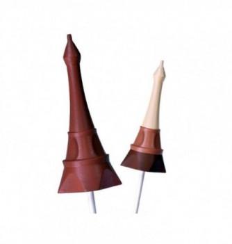 Lollipops Silicone mold - Eiffel tower 3D-90mm 25 gr