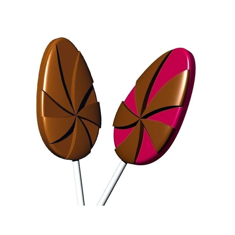 Moule chocolat 3 petits perroquets-66mm