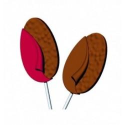 Moule chocolat 3 petites cocottes 68mm