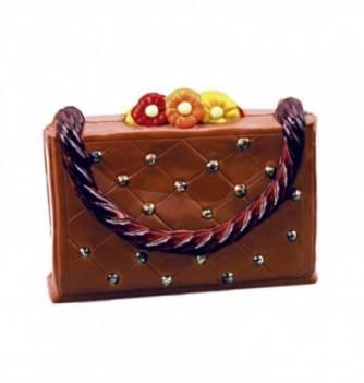 Moule Chocolat Sac à Main Fleurie