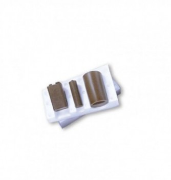 Silicone Mold - 3 Batteries 55x30 - 40x15 - 45x12mm
