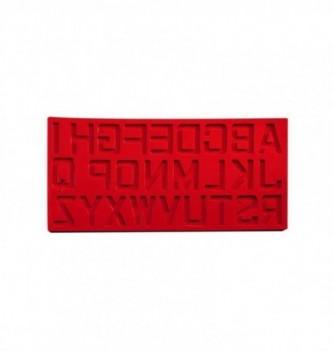 Silicone mold Alphabet - 365x185mm