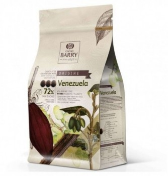 Chocolat de Couverture Barry Noir Venezuela 72% Cacao