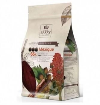 Chocolat de Couverture Barry Noir Mexique Cacao 66%