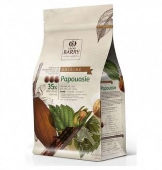 Milk Chocolate couverture BARRY - 35,7 % Papua - 1kg