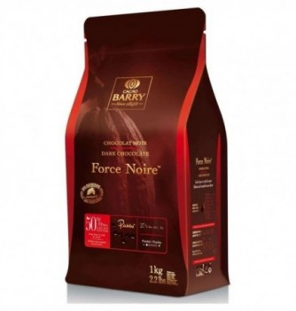 Chocolat de Couverture Barry Force Noire 50% Cacao