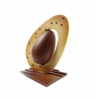 Chocolate Mold - Set of 2 Eggs with bases 200mm