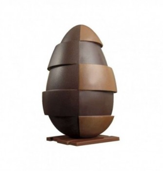 Chocolate Mold - Set of 3 Eggs with bases 200mm