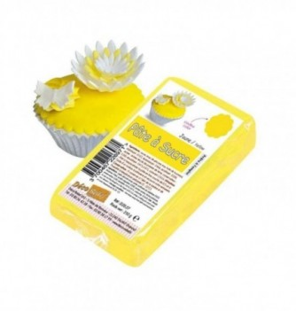 Sugar Paste - Yellow - 250 gr