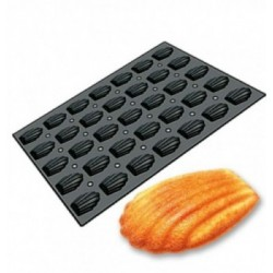Moule silicone coquillages,perles 4pcs 60x10x8mm