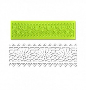 Silicone mold for lace - Doily Frieze 180x50mm