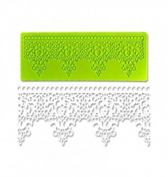 Silicone mold for lace - Royal Crown 190x70mm