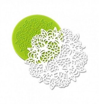 Silicone mold for lace - Doily 100mm