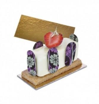 Cake Board - Rectangle - 10x5 cm h 1,2mm