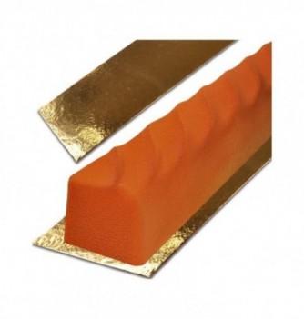 Gold Rectangle Yule log board - 100x10 cm h 1,6mm