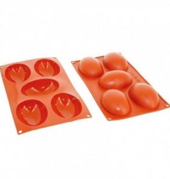 Silicone mold - Half Eggs 102x73x36mm