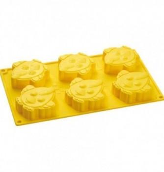 Silicone mold - Chick- 80x80mm Vol. 90 ml
