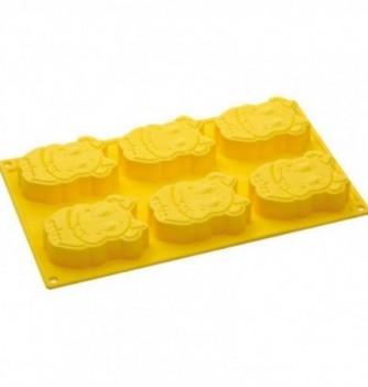 Silicone mold - Cows - 65x85mm Vol. 90 ml