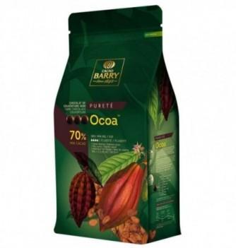 Chocolat de Couverture Barry Noir Ocoa 70% Cacao
