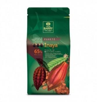 Chocolat de Couverture Barry Noir Inaya 65% Cacao