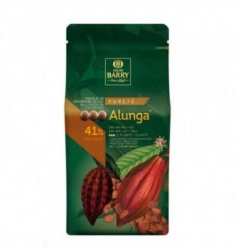 Chocolat de Couverture Barry Lait Alunga 41% Cacao