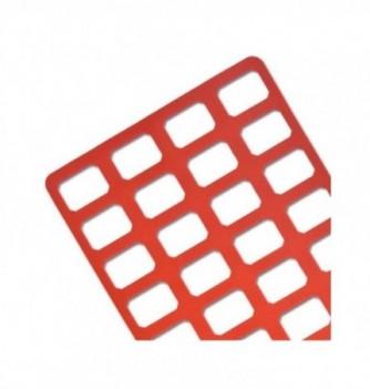 Silicone stencil - 32 Rectangle 35x25x2mm
