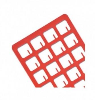 Silicone stencil - 24 Square 35x35x2mm