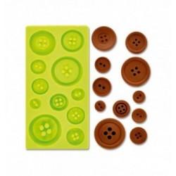 Feuille Transfert Chocolat Fleurs Graphiques