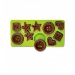 Feuille Transfert Chocolat Ronds