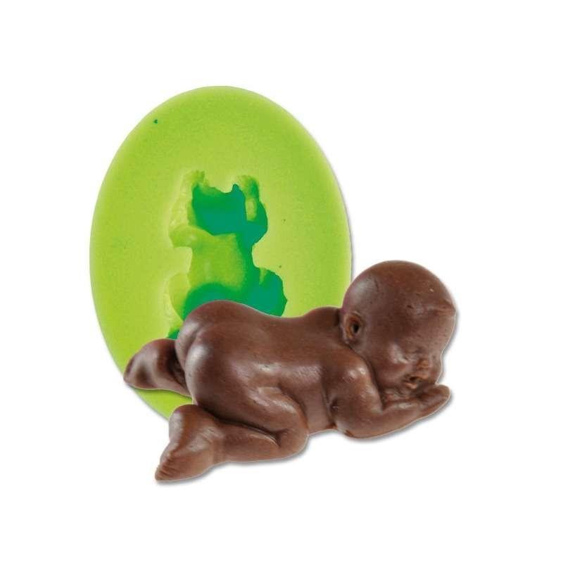 Moule chocolat 3 hamsters-h93mm