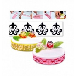 Kit 10 Pinces à Gaufrer lisses assorties