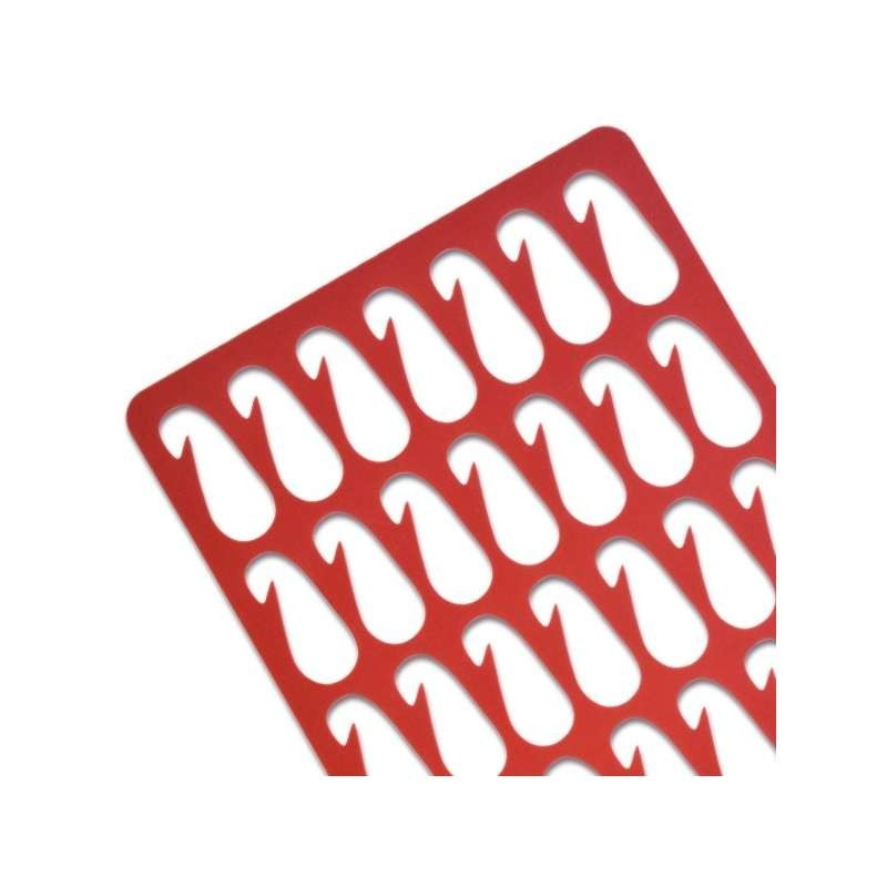 Tapis Silicone - Spécial Macaron SOURIS-CHAT-FLEUR-395x295 mm