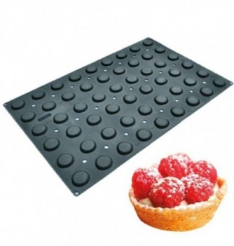 Silicone mold for Cake 60x40cm - Small Tarts - 24 pcs