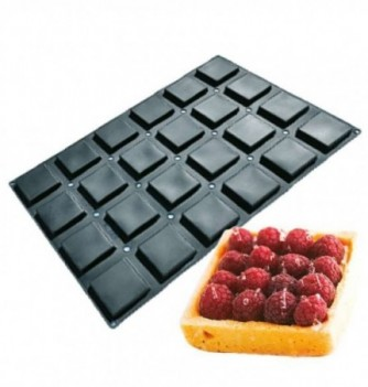 Silicone mold for Cake 60x40cm- Cubes - 24 pcs