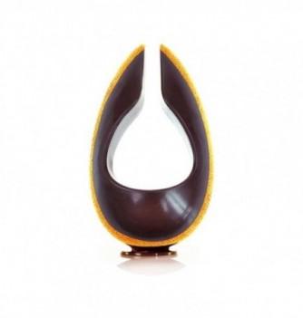 Chocolate mold - Double Texture Egg - 2 pcs