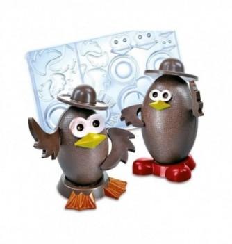 Chocolate mold - Bird Accesories - 18 pcs