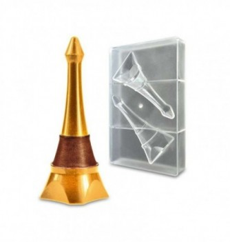 Chocolate mold - Eiffel Tower - 2 pcs