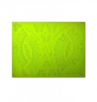 Silicone mold for lace - Butterflies 390x270mm