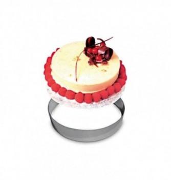 Cercle à Pâtisserie Inox 20cm