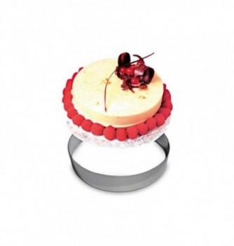 Cercle à Pâtisserie Inox 18cm
