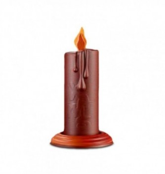 Plastic mold - Set of 2 candles H. 200mm