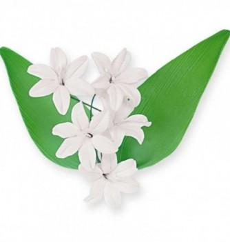 Bouquet de Fleur en Pastillage Lily Blanc
