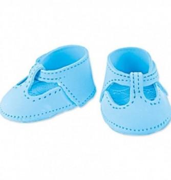 Décor Pastillage Chaussure Bleue Grand Modèle