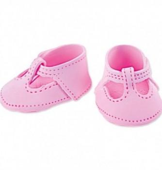 Gumpaste decoration - Pink Shoes 6x4.5cm