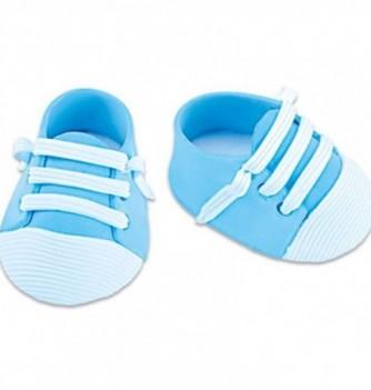 Gumpaste decoration - Blue Sneakers 5.5x4cm
