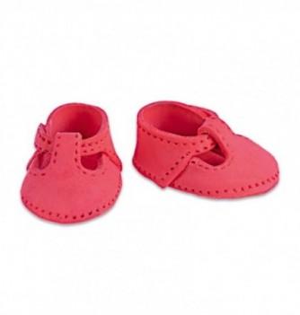 Gumpaste decoration - small Red Shoes 4.5x3cm