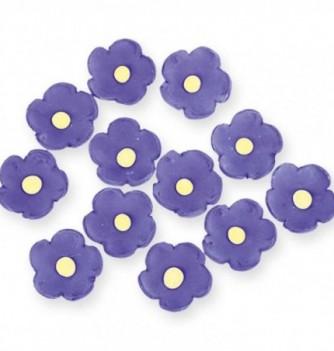Gumpaste Flowers - Purple Flowers