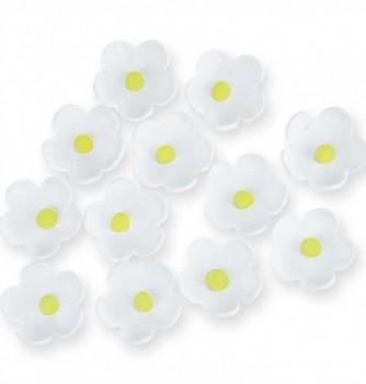 Fleurs en Pastillage Blanches