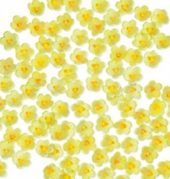 Fleurs en Pastillage Fleurette Jaune